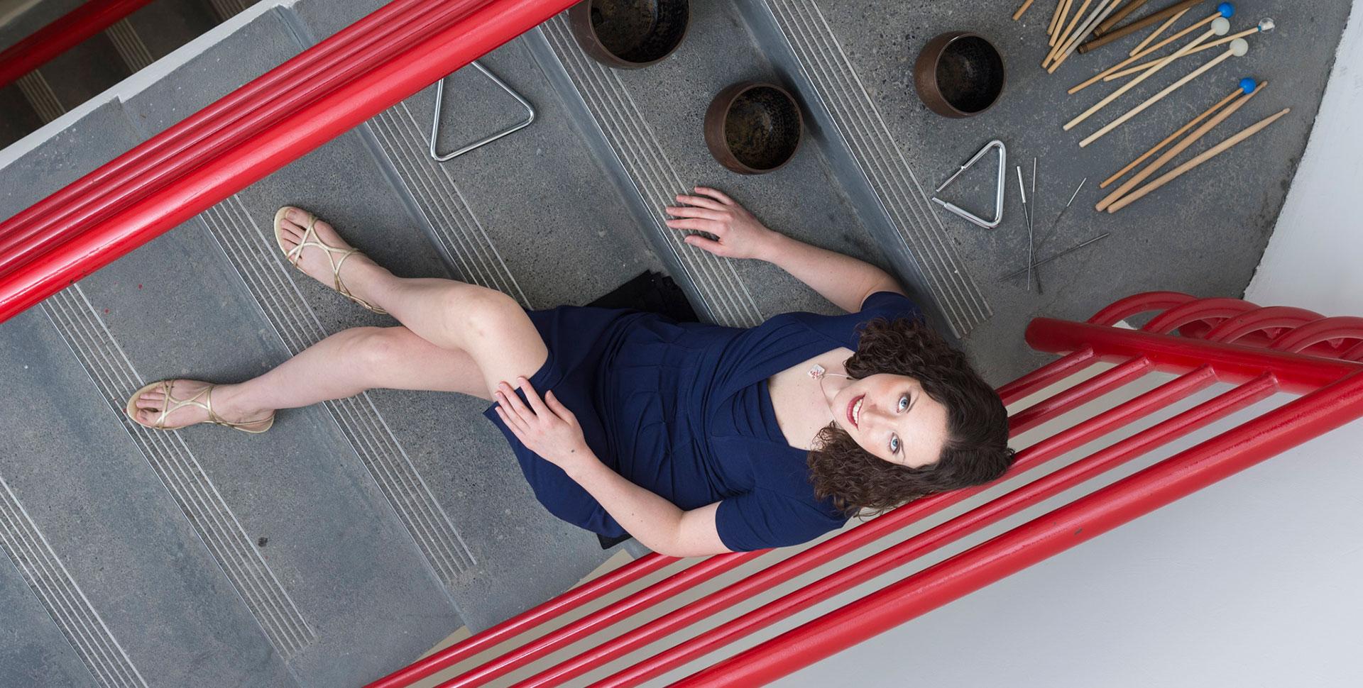 Katie stairs